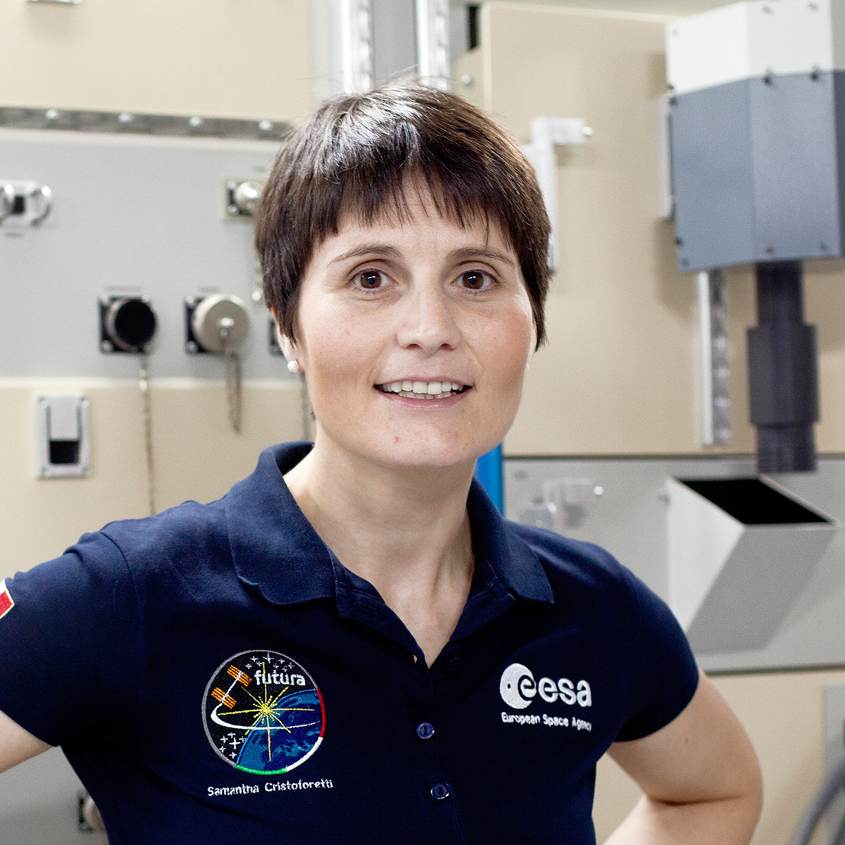Space Girls Space Women Samantha Cristoforetti